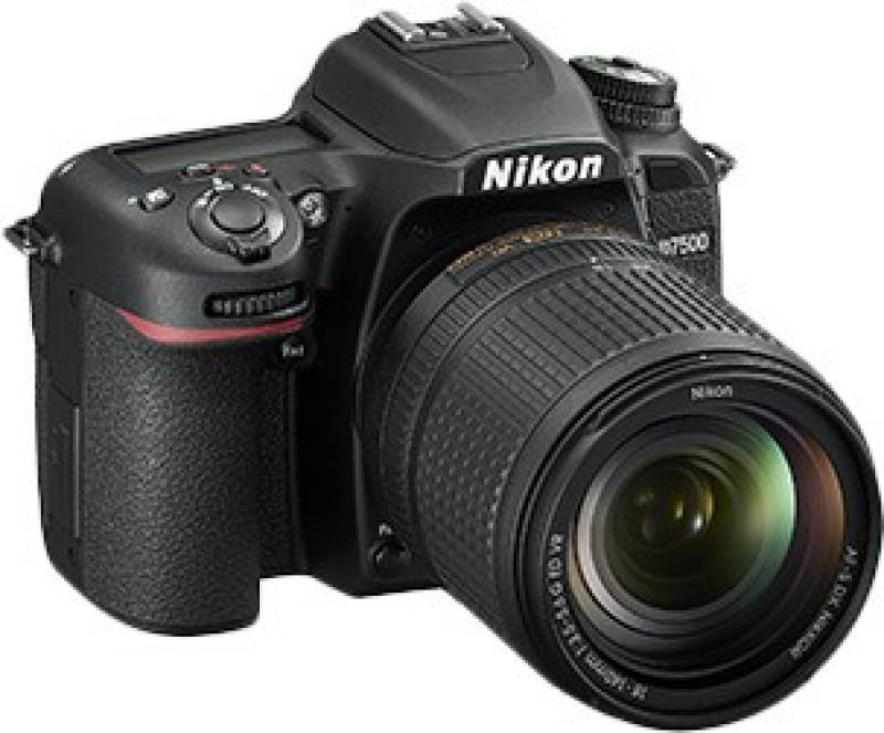 Nikon DX D7500 DSLR Camera Body with Single Lens: AF-S...