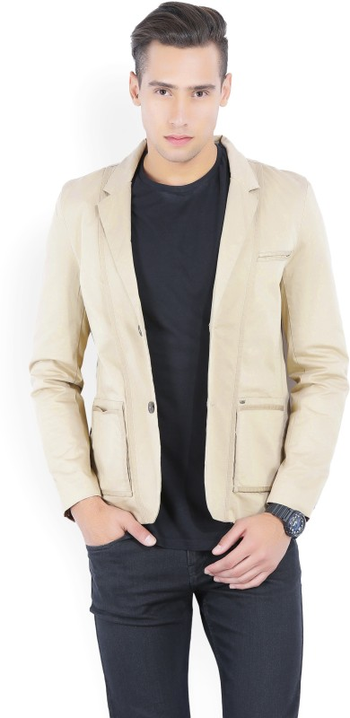 Lee Full Sleeve Solid Mens Jacket