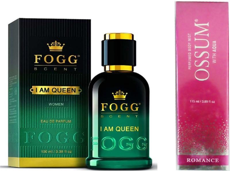 FOGG I AM QUEEN 90 ML+ OSSUM ROMANCE Perfume - 115 ml(For Women)