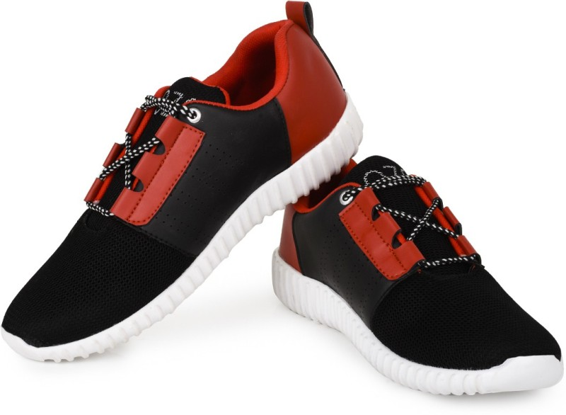 Rozo Walking Shoes For Men(Black, White)