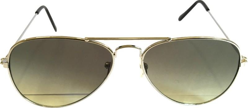 devizer optics Aviator Sunglasses(Grey) image