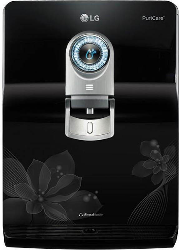 LG WW180EP 8 L RO + UV +UF Water Purifier(Black)