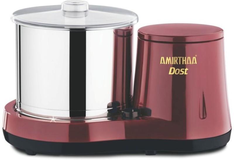 AMIRTHAA DOST (Wine Red) Wet Grinder(Maroon)