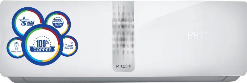 Mitashi 1 Ton 5 Star Split AC - White(MiSAC105v25, Copper Condenser)