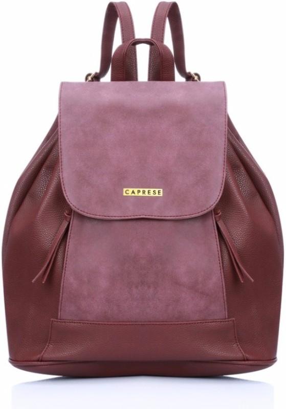 Caprese Andra Backpack Medium Plum 5 L Backpack(Purple)