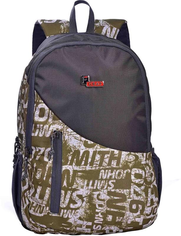 F Gear Cipher 27 L Laptop Backpack(Green, Grey)