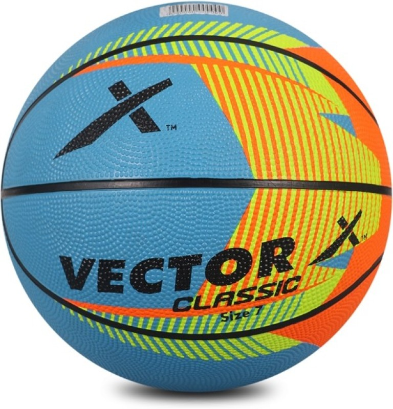 Vector X BB-CLASSIC-MULTI-7 Basketball - Size: 7(Pack of 1, Multicolor)
