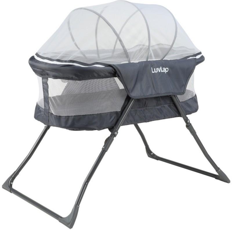 LuvLap Baby Bed - Bassinet(Grey)