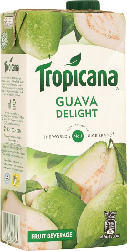 Tropicana Guava Delight Fruit Beverage 1 L