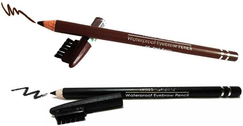 One Personal Care Shady Slim Ultra Brow Arch & Shape(Intense Black, Chocolate Brown)