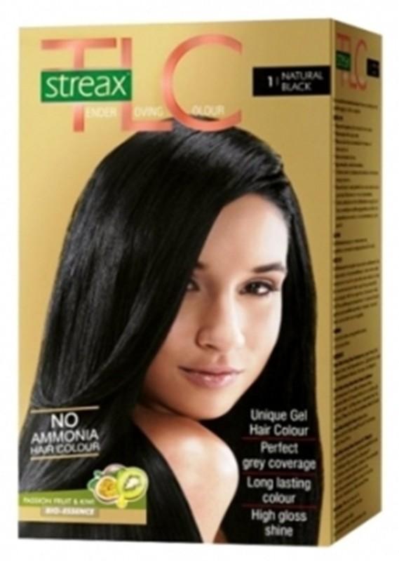 STREAX natural blavk Hair Color(natural black 1)