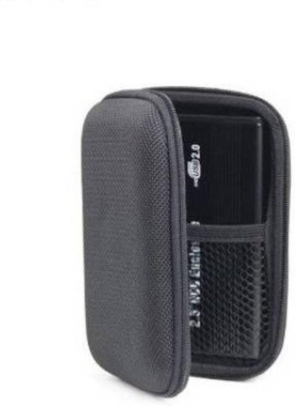 Frndzmart Black Hard Disk Case Cover for 2.5 inch HGST Touro Mobile 1 TB External Hard Disk(For All 2.5 Inch External Hard drives, Mat Black)