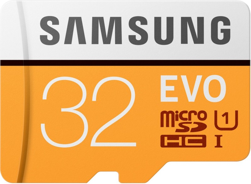 Samsung EVO 32 GB MicroSD Card Class 10 95 MB/s Memory Card(With Adapter)