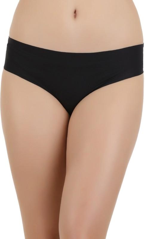 Zivame Womens Bikini Black Panty(Pack of 1)