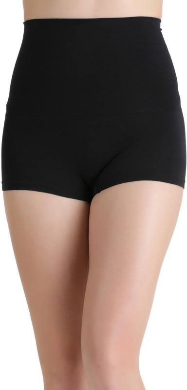 Zivame Womens Boy Short Black Panty(Pack of 1)