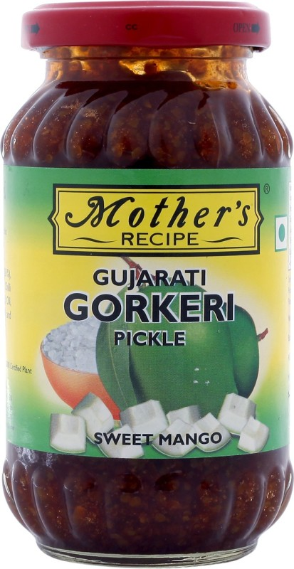 Mothers Recipe Gujarati Gorkeri Mango Pickle(350 g)