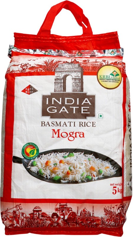 India Gate Mogra Basmati Rice(5 kg)