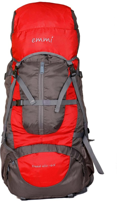 EMMI BAGS Deadalic 65 Liters Rucksack Rucksack - 65 L(Red)