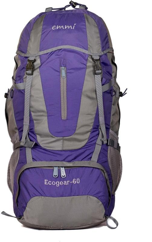 EMMI BAGS Ecogear 60 Liters Rucksack Rucksack - 60 L(Purple)