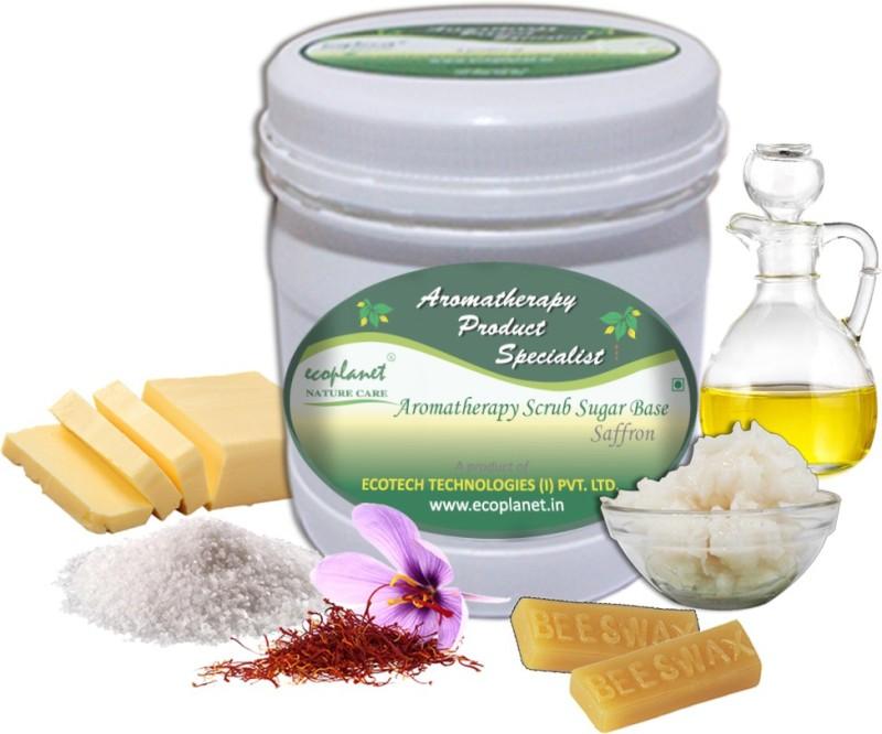 ecoplanet Aromatherapy Scrub Sugar Base Saffron Scrub(1000 g)