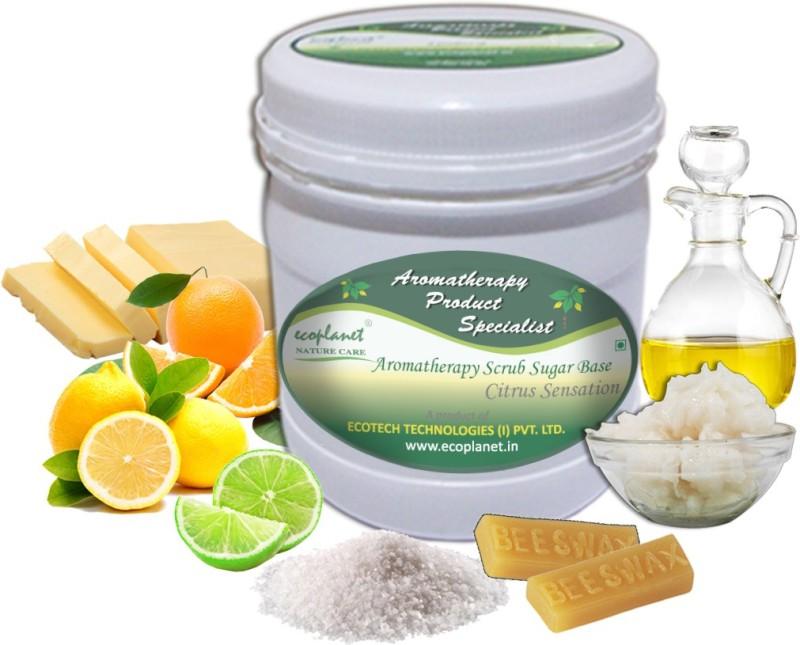 ecoplanet Aromatherapy Scrub Sugar Base Citrus Sensation Scrub(1000 g)
