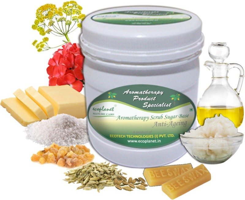 ecoplanet Aromatherapy Scrub Sugar Base Anti Aging Scrub(1000 g)