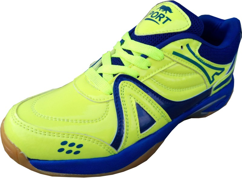 Port ACTIVA Green Badminton Shoes(Green)