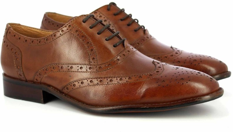 Alberto Torresi Derby For Men(Tan)