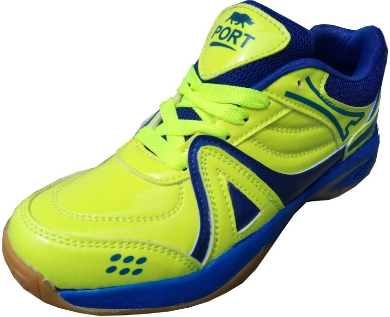 Port Womens Pride Green Badminton Shoes(Green)