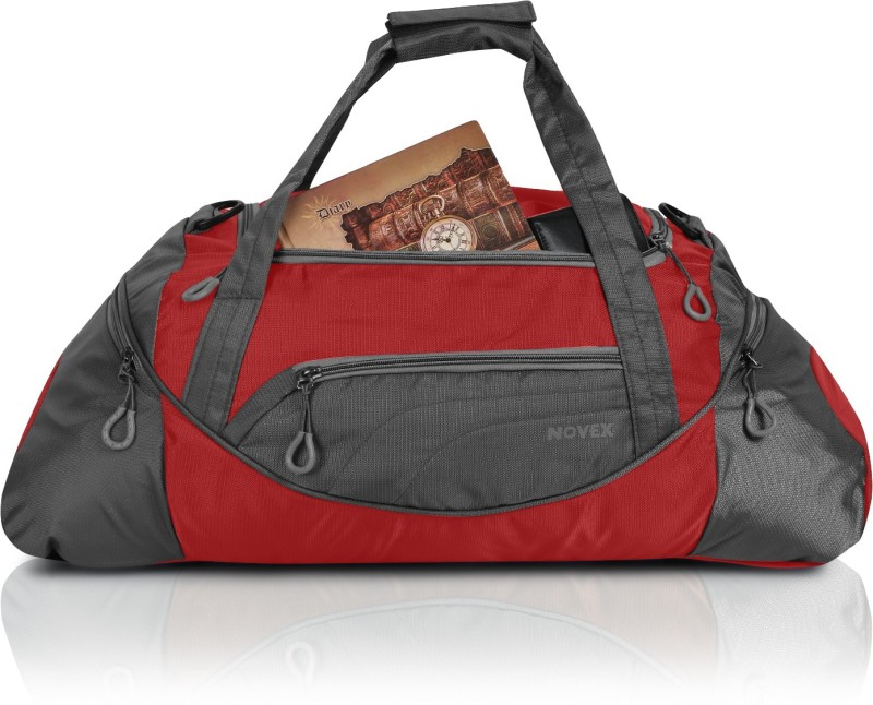 Novex Lite Travel Duffel Bag(Red)