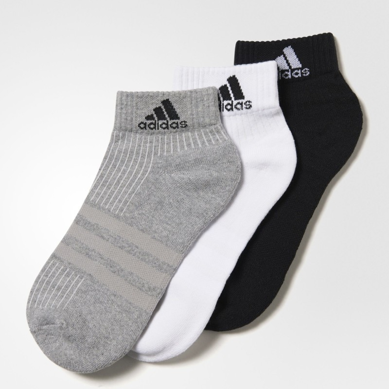 Adidas Men & Women Ankle Length Socks, Ankle Length Socks(Pack of 3)