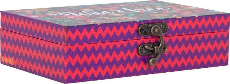 Chumbak Wild & Free Storage Box(Multicolor)