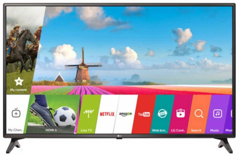LG 123cm (49 inch) Full HD LED Smart TV(49LJ617T)