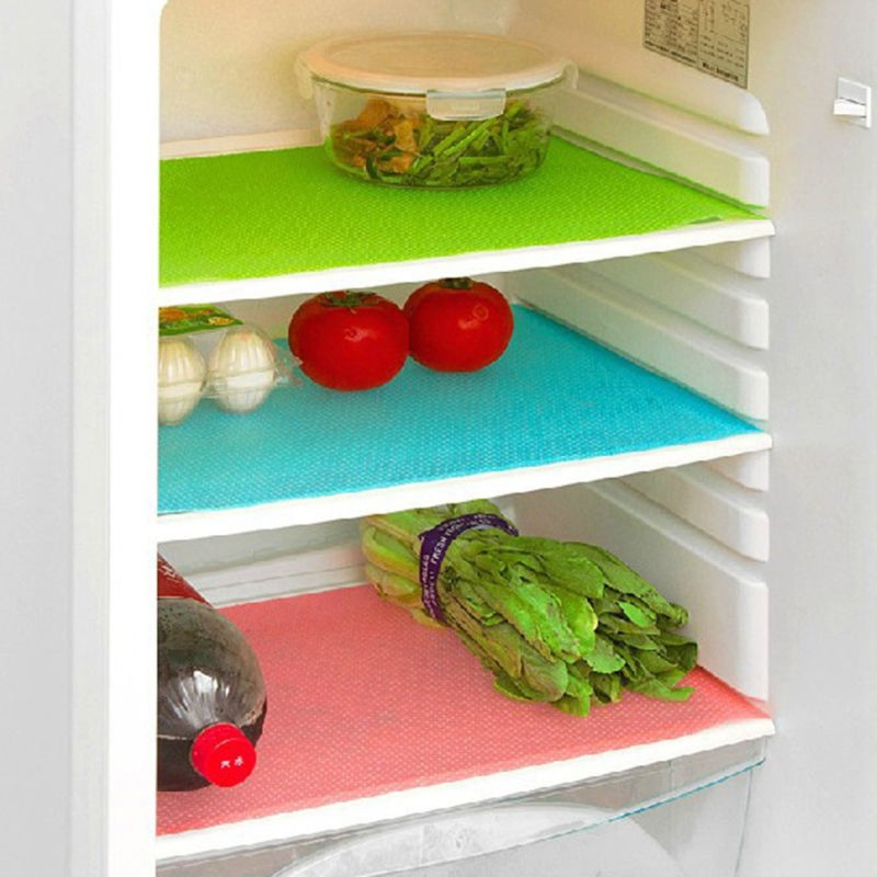 Yellow Weaves Refrigerator Cover(Multi Color)