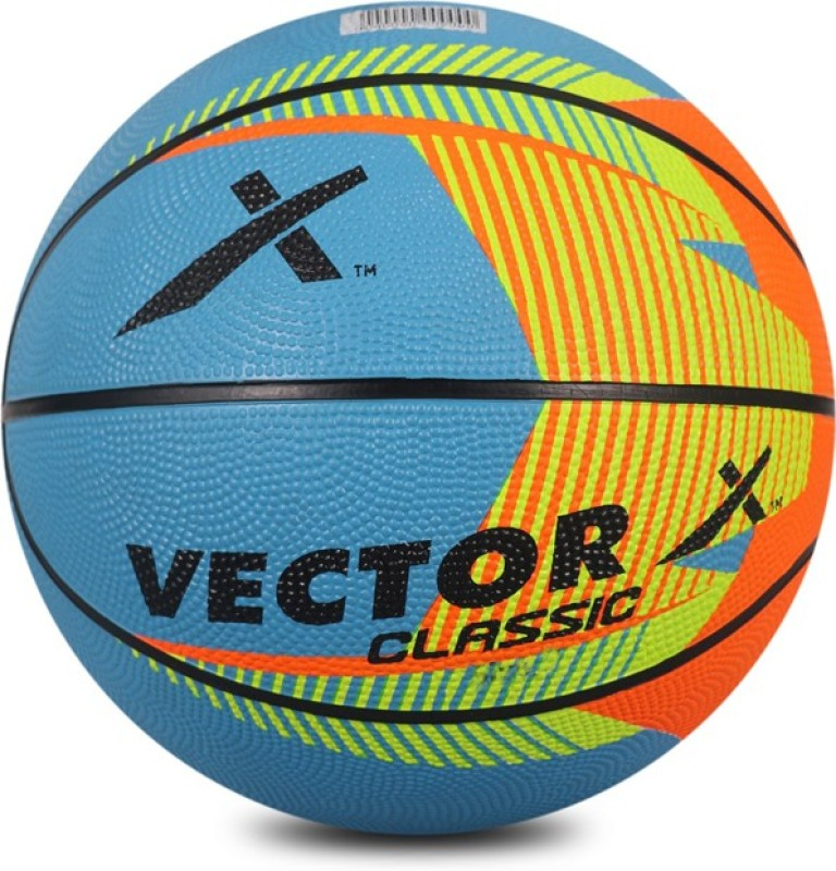 Vector X BASKETBALL-CLASSIC-MULTI-6 Basketball - Size: 6(Pack of 1, Multicolor)