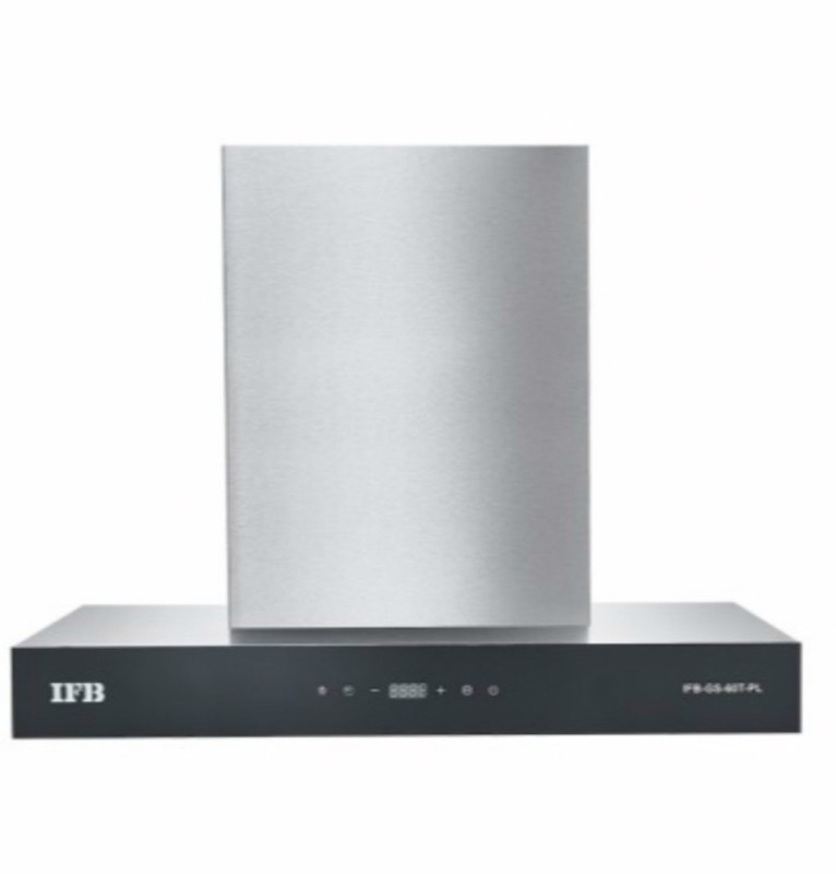 IFB GS-90T-PL Wall Mounted Chimney(Silver 1050)