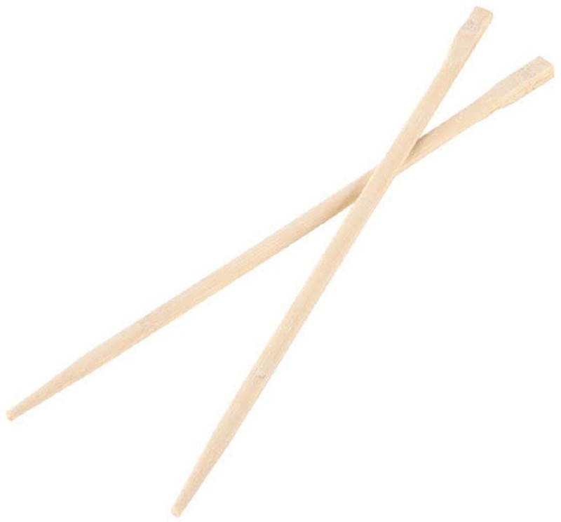 RIANZ Eating Bamboo Chinese Chopstick(Multicolor Pack of 10)