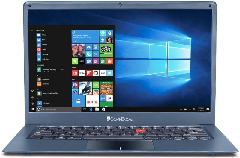 Iball Compbook Celeron Dual Core 7th Gen - (3 GB/32 GB EMMC Storage/Windows 10) Marvel 6 Laptop(14 inch, Metallic Grey) Marvel 6