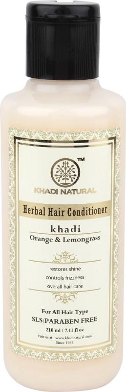 Khadi Natural Organic Orange & Lemongrass Conditioner SLS & Paraben Free(210 ml)