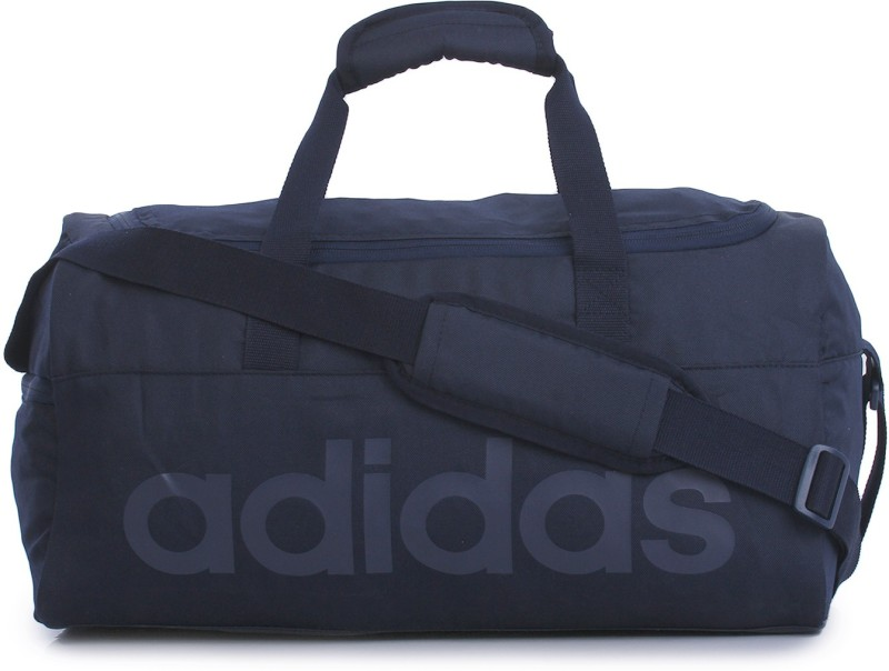 Adidas Lin Per Tb S (Expandable) Travel Duffel Bag(Blue)