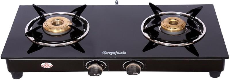 Suryajwala ROYALE GT02 SURYA BB 2 Burner Stainless Steel Manual Gas Stove(2 Burners)