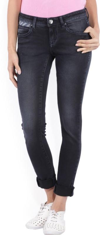 Lee Slim Womens Black Jeans
