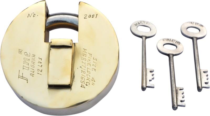 Fine model no 2001 Padlock(golden)