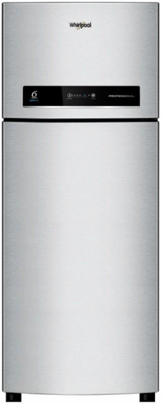 Whirlpool 360 L Frost Free Double Door 3 Star Refrigerator(Alpha Steel, Pro 375 ELT 3S)