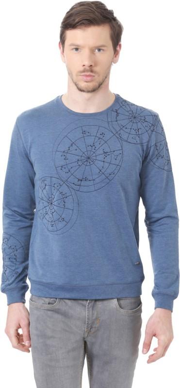 Peter England Full Sleeve Printed Men Sweatshirt