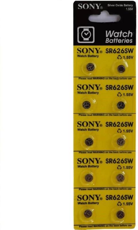 Sony SR626SW 1.55v Watch Battery 10-piece 10-piece Watch Repair Kit