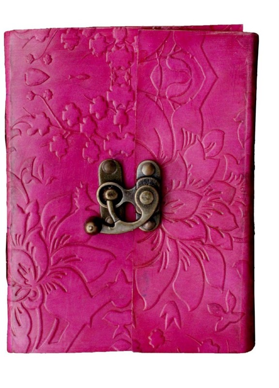SR MART Swanky Store A6 Organizer 100 Pages(Pink)