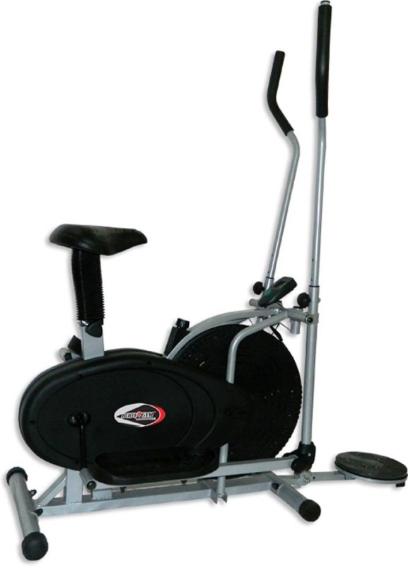 Body Gym Orbitrac Lxb 1850R Indoor Cycles Exercise Bike(Black, Grey)