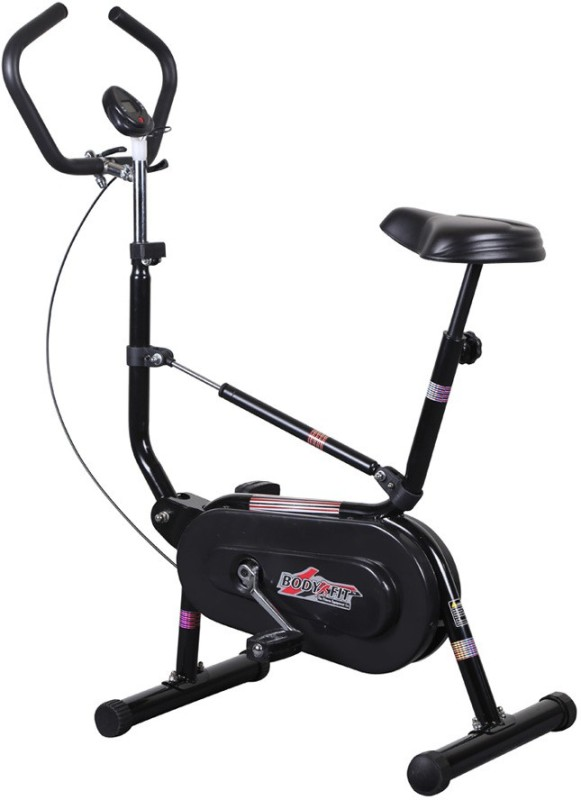 Body Gym Exercise Single Shocker Bike Bgc 207 Indoor Cycles Exercise Bike(Black)