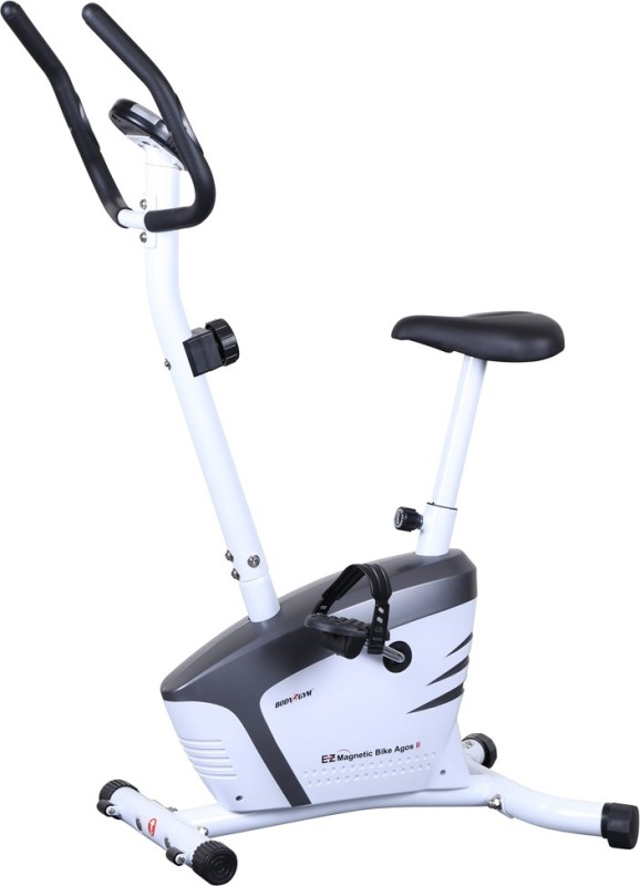 Body Gym Magnetic Bike Egos Ii Indoor Cycles Exercise Bike(White, Black)